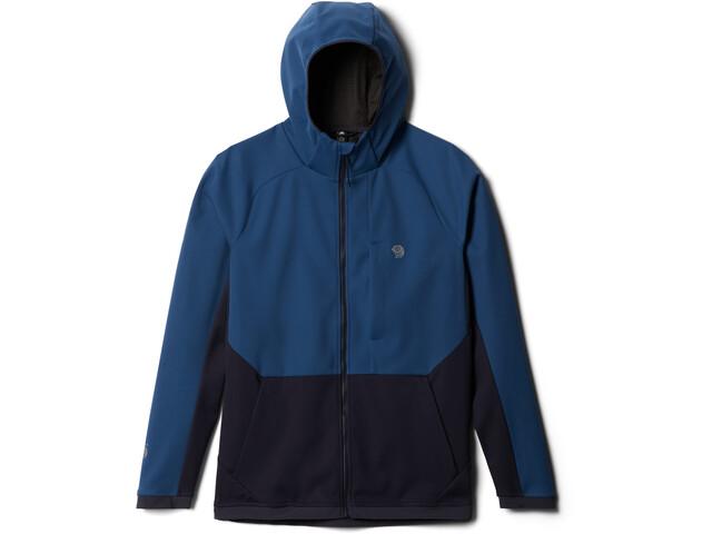 Mountain Hardwear Mtn. Tech/2 Sudadera Capucha Hombre, azul